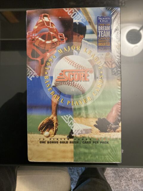 1994 Score Baseball Trading Card Series 1 Factory Sealed Wax Box Dream Team