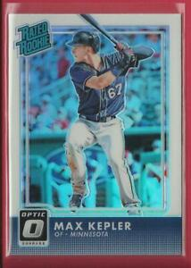 Max-Kepler-RC-2016-Donruss-Optic-RATED-Rookie-HOLO-PRIZM-Card-Twins-Baseball-MLB