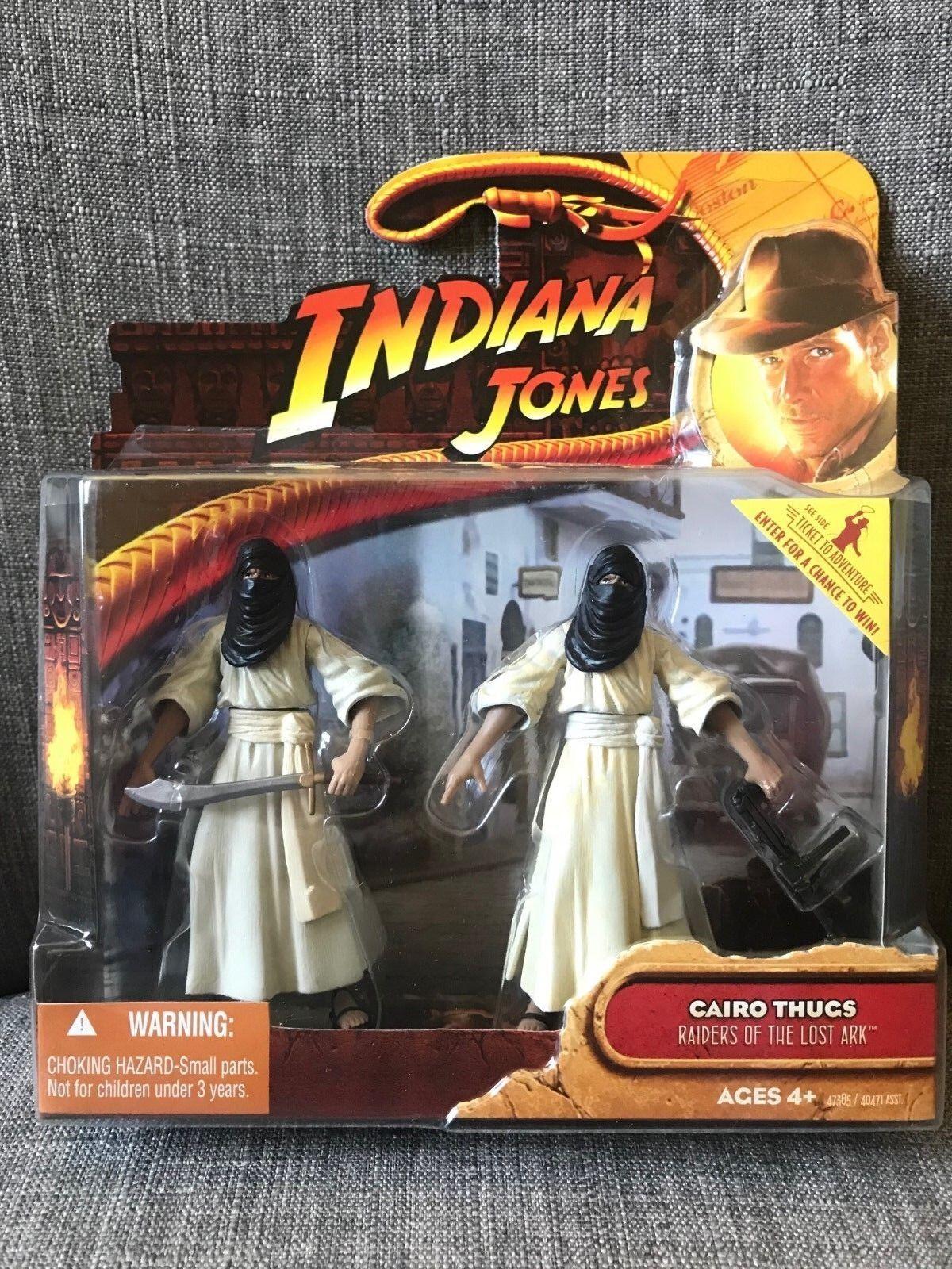 Indiana Jones Cairo Thugs Raiders of the Lost Ark 2008 New   Sealed Box