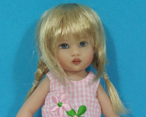 Debs WIG Tess Braids GOLDEN STRAWBERRY BLONDE Custom For Helen Kish Riley Doll