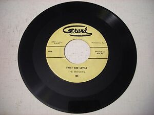 The-Tritones-Sweet-and-Lovely-Blues-in-the-Closet-1961-45rpm-VG