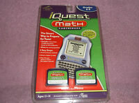 Iquest Game Math Cartridges A & B Educational Grade 6-8 Age 11-14 Leapfrog