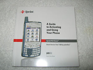 sprint palm treo 650 palmone guide to activating using phone rh ebay com Palm Cell Phone Palm Cell Phone