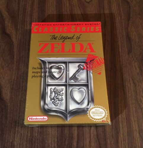 1 of 1 - The Legend of Zelda (Nintendo, NES) Brand New - Factory Sealed - Classic Series