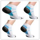2 Foot Compression Socks for Plantar Fasciitis Heel Spurs Arch Pain Sport Soc SZ