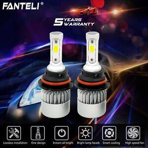 9007//HB5 COB LED Headlight White Bulbs for Ford F-150 1992-2003 F-250 1992-1999