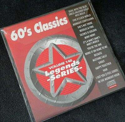 Nice Legends Karaoke Vol 148 See Description,17 Tracks.genuine Factories And Mines 60's Classics