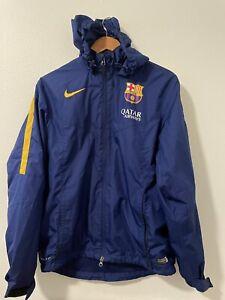Nike FCB Barcelona storm fit jacket blue medium QATAR football soccer