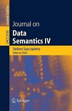 Journal on Data Semantics IV (Lecture Notes in Computer Science  Journal on Data