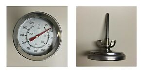 """New other! F/&C 2/"""" BBQ SMOKER//PIT//GRILL THERMOMETER TEMP GAUGE New Arrival"""
