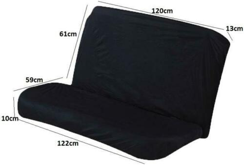 Refresh Car Upholstery Black Extra Durable Cover Rear Seat For Peugeot