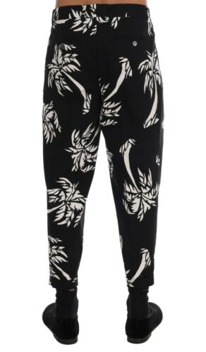880 Ankle Length Pants It44 Gabbana Cotton W30 Stretch 8058091183722 Tree New Dolce Black amp; 1zdSwvSq