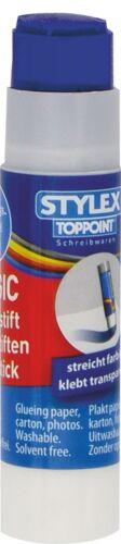 6g je Tube farbiger Klebstoff EUR 9,92 // 100 g 2 Magic Klebestifte