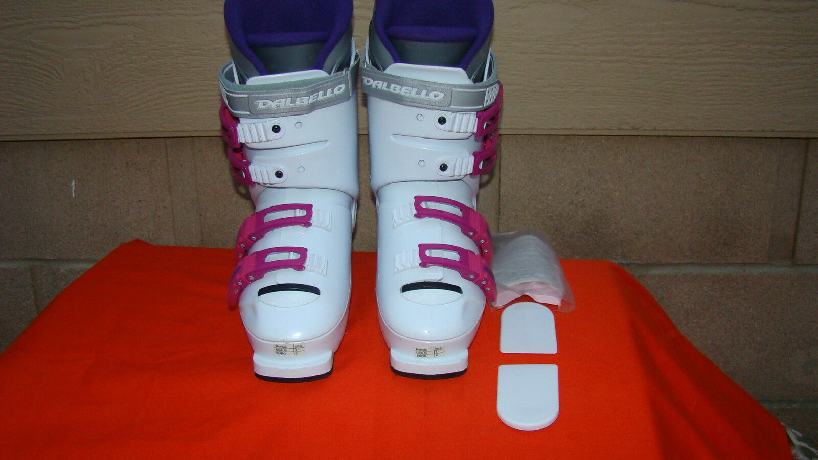 Dalbello Ski Boots MX-39 Womens Us 7 Mondo 250 Eur 6 White Pink
