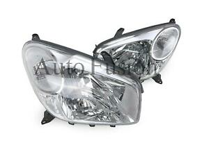 Headlights-Pair-For-Toyota-RAV4-ACA20-2003-2005