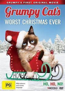 Grumpy-Cat-039-s-Worst-Christmas-Ever-DVD-2014-BRAND-NEW-REGION-4