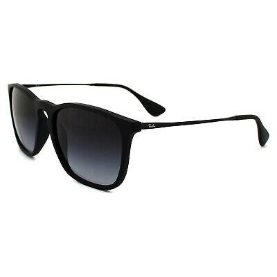 Kleidung & Accessoires Ray-ban Sunglasses Chris 4187 622/8g Rubber Black Gradient Grey Geschickte Herstellung