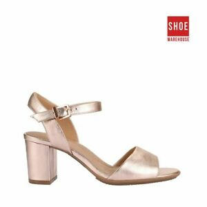 Hush Puppies LINDERA Pink Womens Heels Dress/Formal Leather Heels