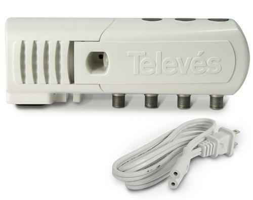 Televes TV Antenna Distribution Amp 3 Output with LTE Filtering