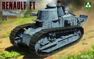 Takom-1-16-1004-French-Light-Tank-Renault-FT