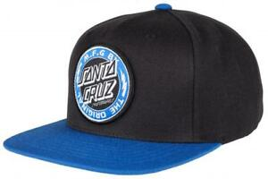 SANTA-CRUZ-VOLTAGE-SNAPBACK-CAP-BLACK-BLUE