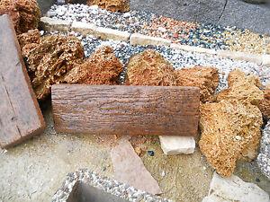 Camminamenti in cemento effetto legno per arredo giardino for Arredo giardino in cemento