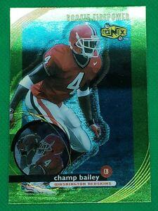 1999 UD Ionix #71 Champ Bailey HOF ROOKIE Georgia Bulldogs / Wash Redskins