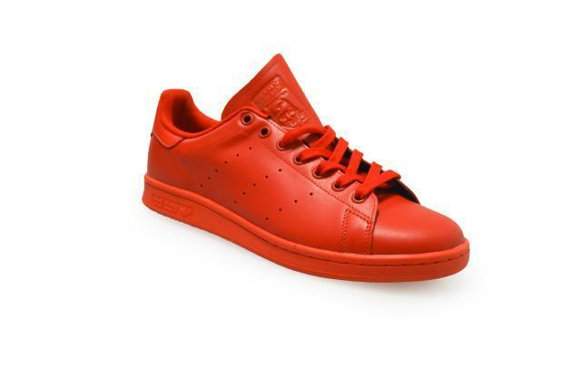 Mens Adidas S75547 Stan Smith  - S75547 Adidas - ROT Trainers 62a4e7