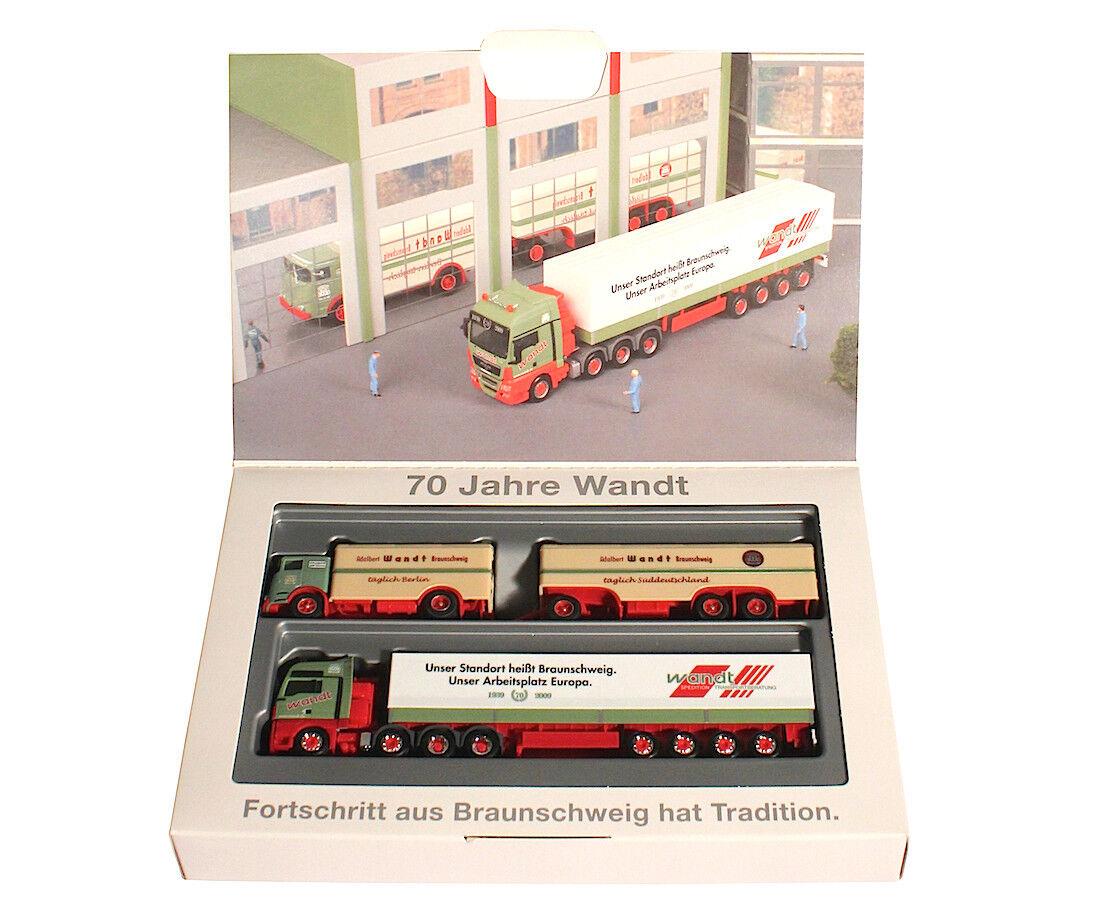 1 87 Herpa - 70 años limitada-progreso de Marroneeschweig tiene tradición.