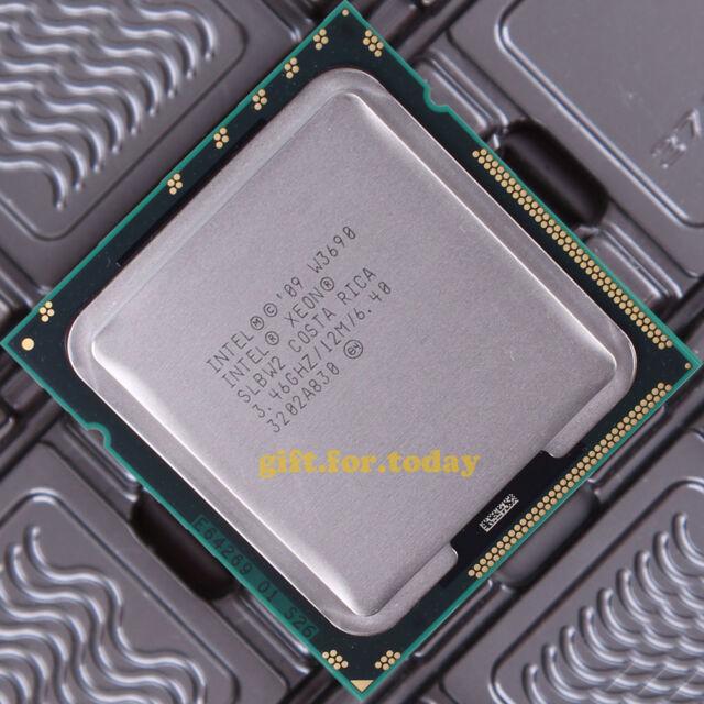 Intel Xeon W3690 SLBW2 3.46 GHz Six Core LGA 1366 Processor CPU
