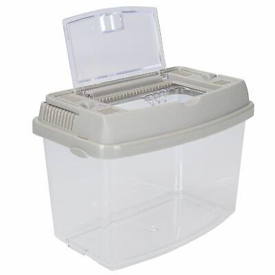 Hartig 1.4l Plastic Pet Keeper Mini Insects, Fish, Aquatics Holder 11.5x13.5x18cm Het Comfort Van Het Volk Aanpassen