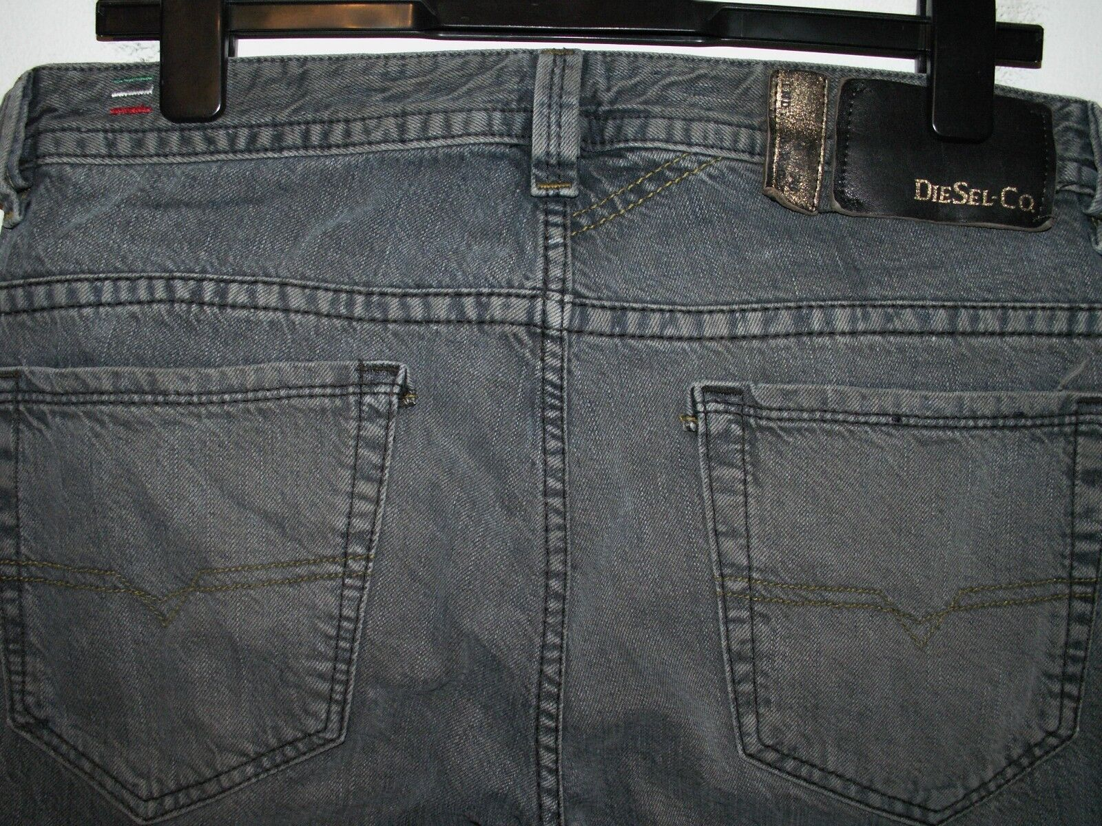 Diesel thavar slim-skinny fit jeans wash 0807C W30(32) L30 a4225
