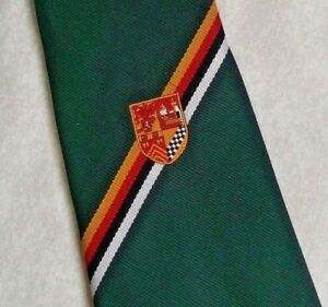 Simple Vintage Cravate Homme Cravate Shield Crested Club Association Society-afficher Le Titre D'origine Ventes De L'Assurance Qualité