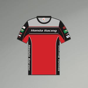 17HBSB-CT Official Honda BSB Racing  Man/'s T shirt