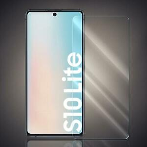 Panzer Folie für Samsung Galaxy S10 Lite Echt Glas Displayschutzfolie Glas Folie
