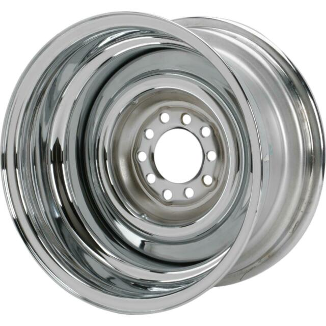 Speedway Smoothie Reverse 15x8 Chrome Steel Wheel 5on4 5 4 75 2 5 Bs For Sale Online Ebay