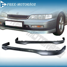 FOR 94-95 HONDA ACCORD URETHANE FRONT BUMPER LIP SPOILER TYPE R STYLE