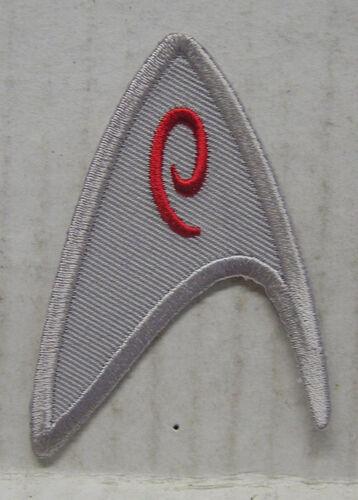 "Star Trek New Movie ENGINEERING Uniform Insignia 2.75/"" Patch-USA Mail STPAM-M03"