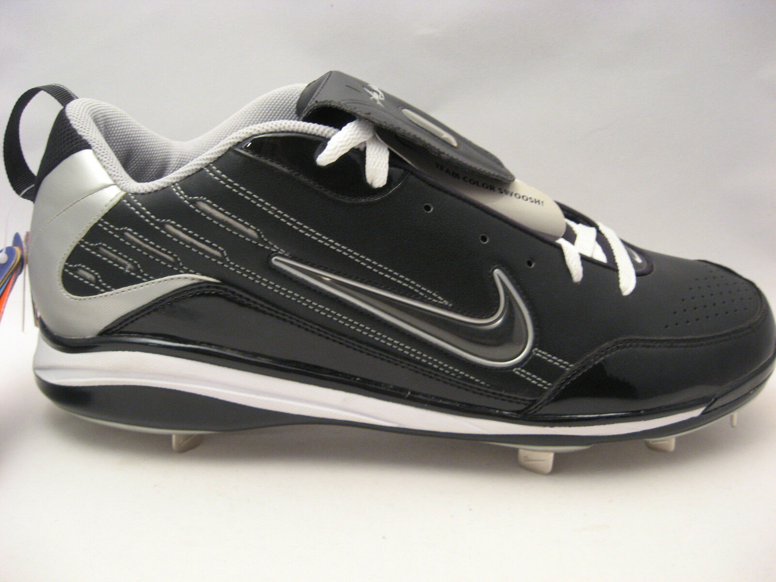 Nike Mens Air Show Elite MVP Metal Baseball Cleats 16 Team Color Swoosh Pro NEW The most popular shoes for men and women