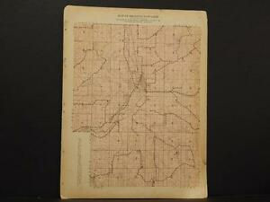 Wisconsin, Trempealeau County Map Preston Township 1930 Y8#06