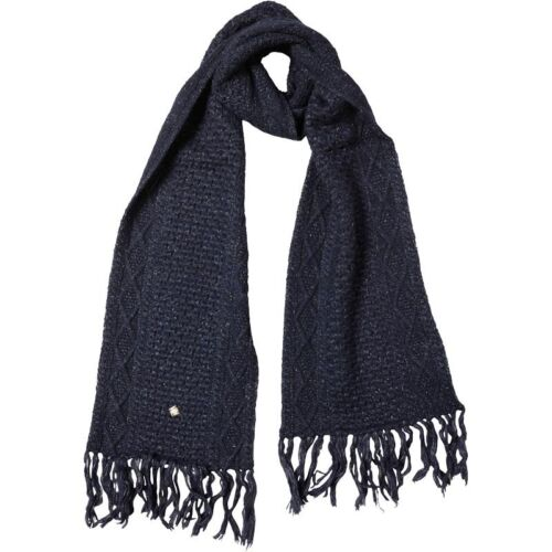BNWT Superdry Womens Hot Fix Scarf Navy One Size