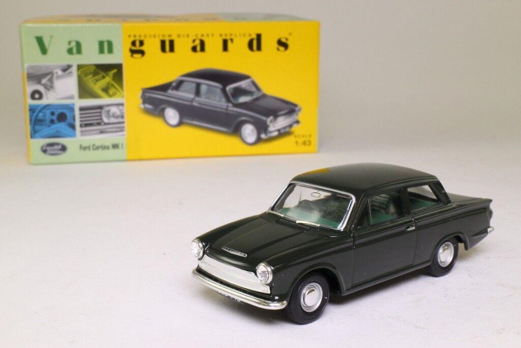 Ford Ford Ford Cortina MkI  Goodwood verde  1962 (Vanguards 1 43   VA07300) 6e7d5c