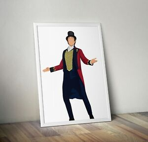 The-Greatest-Showman-Hugh-Jackman-Print-Poster-wall-art-gift-home-decor