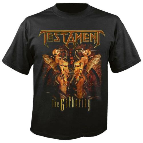 Gathering Testament Thrash Metal Shirt ufficiale Licenza The 2017 T qHtnw5v