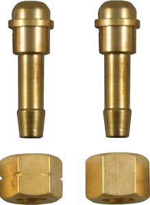 Welding Gauge nut and tail 3//8 BSP Right Hand Thread Nut /& 3//8-1//4 Tail CO2