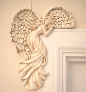 Marco de la puerta Alas de Ángel Pared Arte Escultura Ornamento De La Decoración Del Hogar Puerta Secreta de Hada