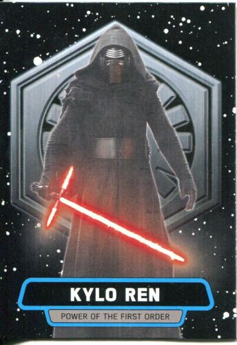 Star Wars JTTFA Power Of The First Order Chase Card FO-1 Kylo Ren/'s
