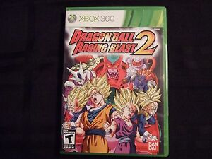 Replacement-Case-NO-GAME-DRAGON-BALL-RAGING-BLAST-2-XBOX-360