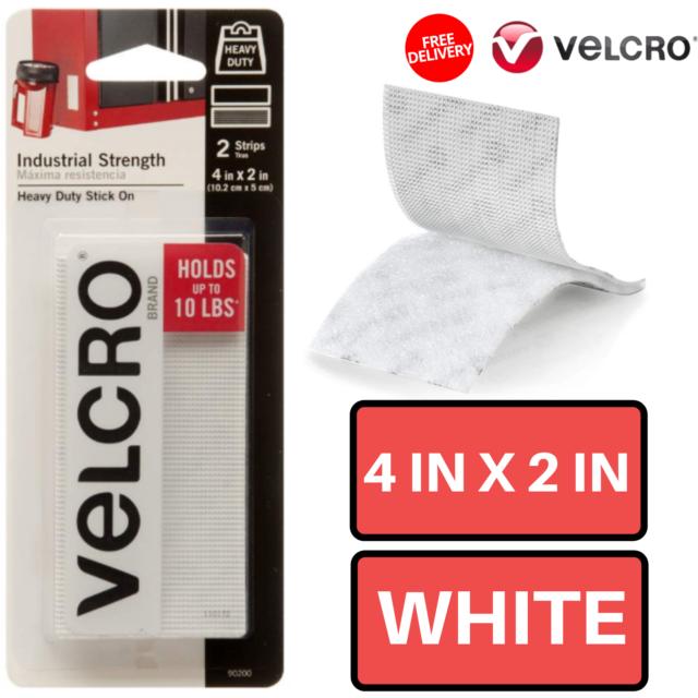 VELCRO Industrial Strength 2 Wide Tape 15-Feet Black Waterproof Adhesive New