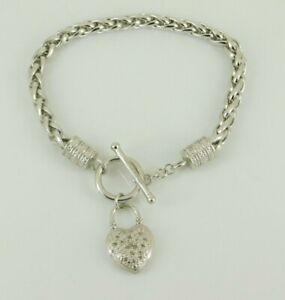 925-Sterling-Silver-Diamond-Toggle-Bracelet-7-75-034-Long
